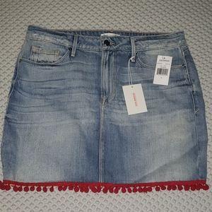 Good American Pom Pom mini Skirt